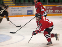 selkirk steelers vs swan valley stampeders